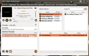 Sayonara-music-player-in-Ubuntu-11.10-300x188