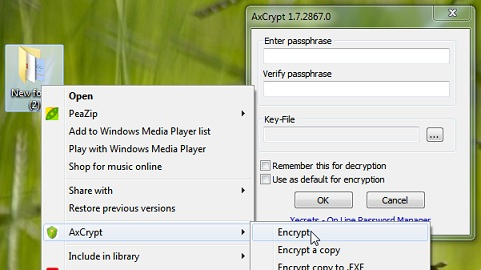 AxCrypt-running-in-Windows-7