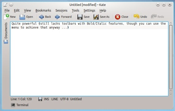 Kate-text-editor