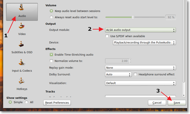 Making-ALSA-the-default-audio-output-in-VLC