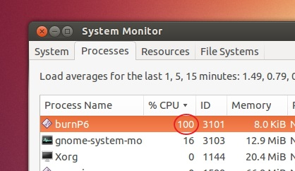 burnP6-showed-in-Processess-tab-100-percent