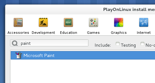 Selecting-an-applications-from-the-playonlinux-install-menu