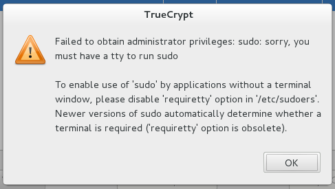 TrueCrypt-giving-requiretty-enabled-error-in-Fedora-18