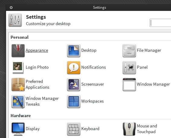 Settings-window-Xfce-4.10
