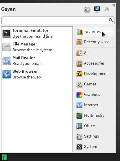 Whisker-menu-running-on-Manjaro-0.8.7.1