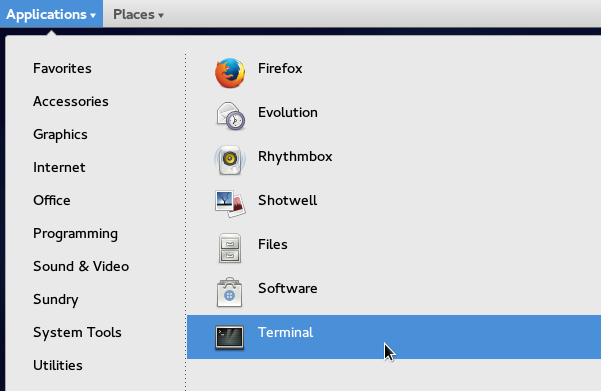 Newly-added-applications-being-displayed-on-the-Applications-Menu-in-GNOME-Classic-Fedora-21