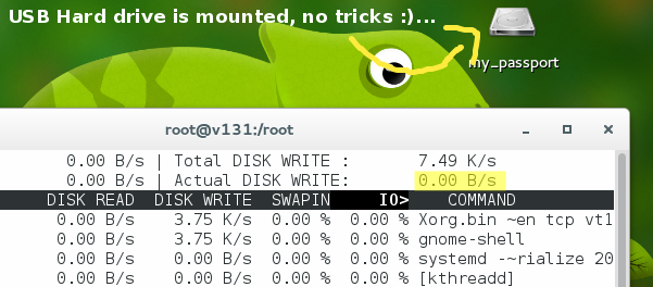 Zero-disk-read-write-usage-after-re-formatting-with-lazyinit-disabled-Fedora-21-Gnome
