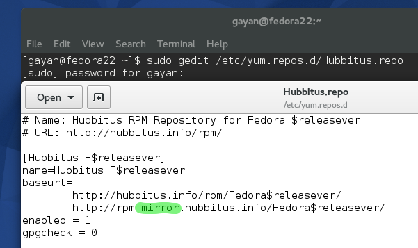 Correcting-the-Hubbitus_repo-to-a-working-one-Fedora-22