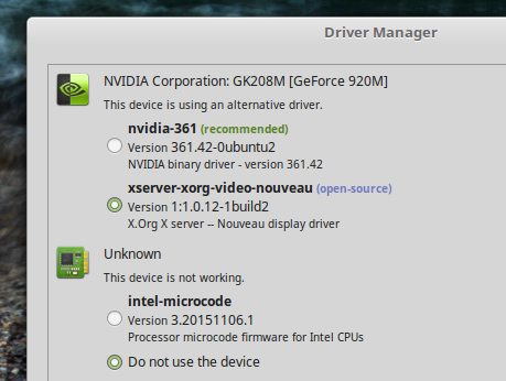Driver-Manager-Linux-Mint-18-Cinnamon