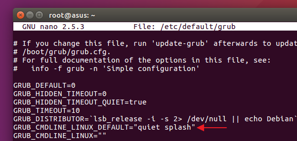 Enabling-BFQ-in-GRUB-configuration-file-Ubuntu-16.04-LTS